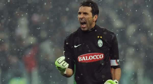 Gigi Buffon juventus entre os maiores vendedores de camisas