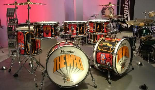 Keith Moons Silver kit bateria