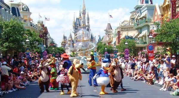 Magic Kingdom entre os melhores parques tematicos