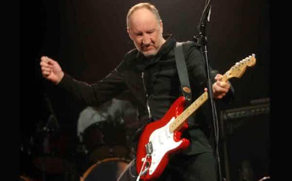 Pete Townshend entre os maiores guitarristas