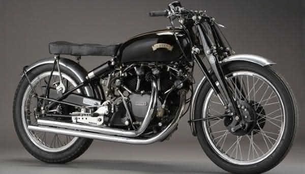Vincent Series C Black Lightning 1949 entre as motos mais caras ja vendidas