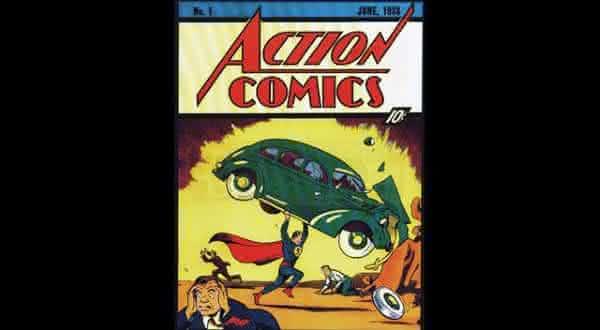 action comics junho 1938 entre os hqs mais caros
