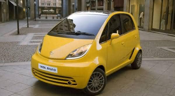 tata nano um dos carros mais baratos do mundo