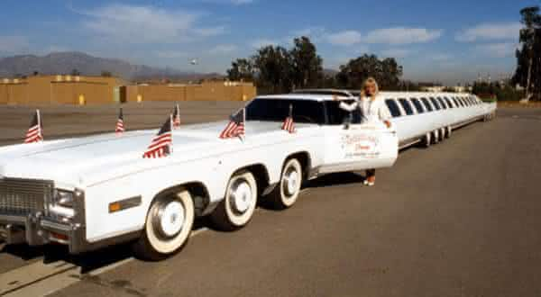 the american dream limousine frente