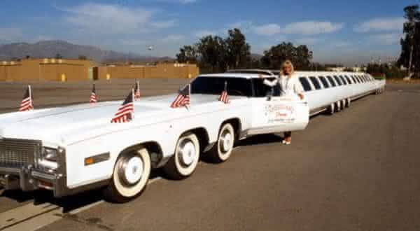 The American Dream Limousine Frente