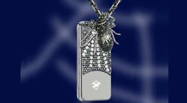 Capa aranha de Anita Mai Tan entre as capas para iphone mais caras do mundo