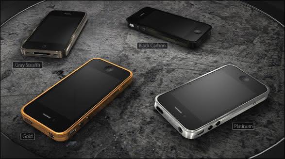 Capa de Titanio da Brikk entre as capas para iphone mais caras do mundo