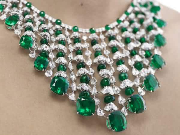 Chopard Magnificent Diamond and Emerald entre os colares mais caros do mundo