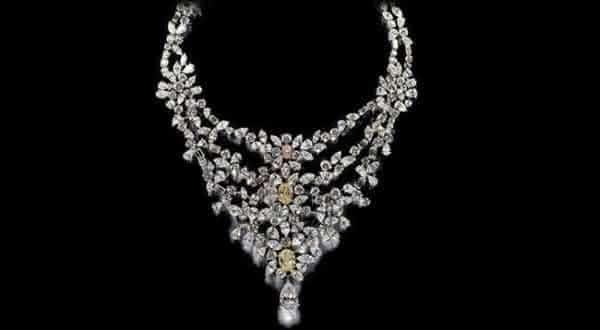 Colar De Beers Marie Antoinette  entre os colares mais caros do mundo