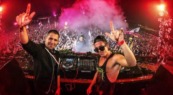 Dimitri Vegas Like Mike entre os melhores djs da musica eletronica
