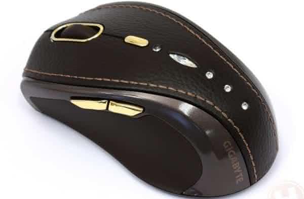 Mouse Gigabyte Bling-Bling GM-M7800S Wireless entre os mouses mais caros do mundo