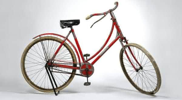 Rare Tiffany co Silver Mounted Ladys Bicycl entre as bicicletas mais caras do mundo