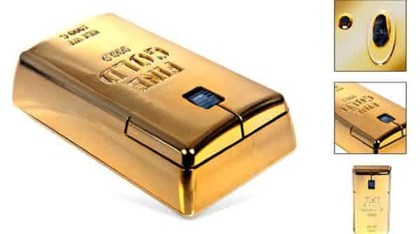 The Gold Bullion Wireless entre os mouses de pc mais caros do mundo