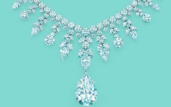 Tiffany Co Majestic Diamond entre os colares mais caros do mundo