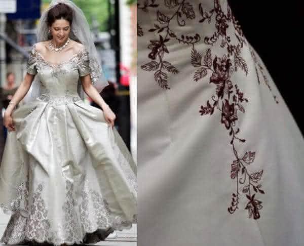 12d2af846 Vestido Platina entre os vestidos de noiva mais caros do mundo