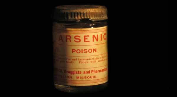arsenico entre os venenos mais mortais