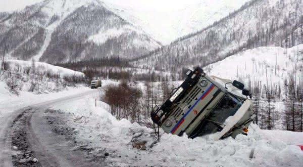 estrada siberiana  entre as estradas mais perigosas do mundo