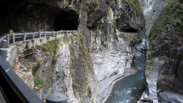 taroko gorge entre as estradas mais perigosas do mundo