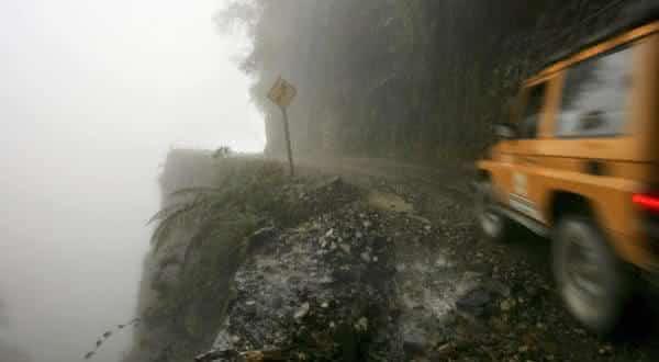 yungas do norte bolivia entre as estradas mais perigosas do mundo