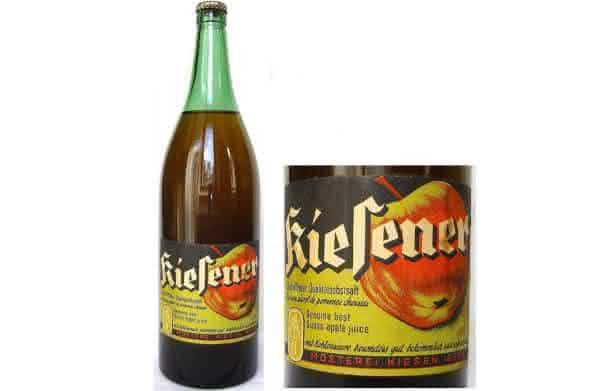 Antique Kiesener Swiss Apple Juice de 1942 entre os refrigerantes mais caros do mundo
