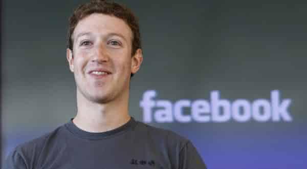 Mark Zuckerberg entre os bilionarios que nunca terminaram a universidade