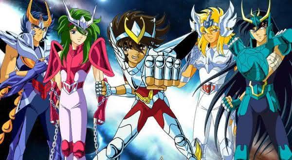 cavaleiros do zodiaco entre os melhores animes da historia