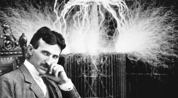 nikola tesla entre os maiores cientistas de todos os tempos