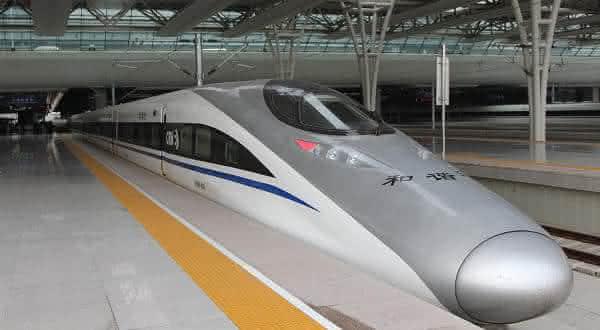 China Railway CRH380AL entre os trens mais rápidos do mundo