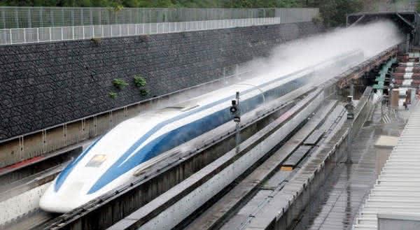 JR Maglev MLX01 o trem mais rápido do mundo
