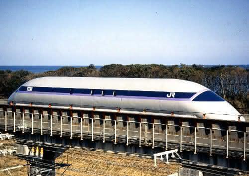 Maglev MLU002N entre os trens mais rapidos do mundo