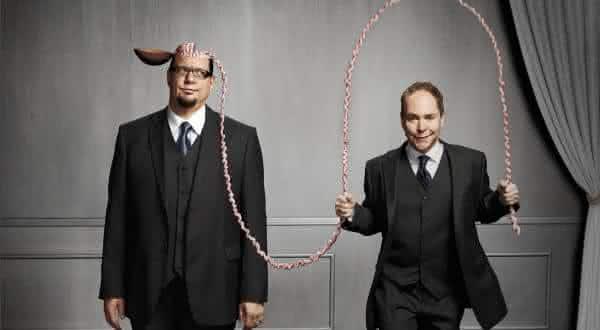 Penn e Teller entre os melhores magicos do mundo