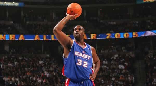 Shaquille O Neal entre os melhores jogadores de basquete de todos os tempos