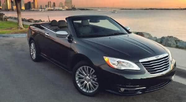 chrysler 200 touring convertible entre os carros conversiveis mais baratos do mundo