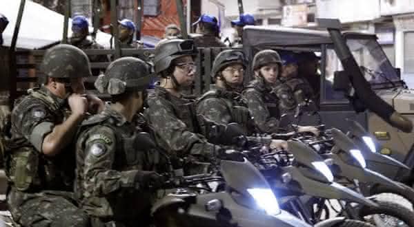 Brasil entre os paises com mais gastos militares