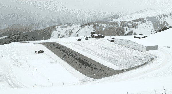 Courchevel entre os aeroportos mais perigosos do mundo