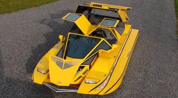 Dobbertin HydroCar entre os mais incriveis carros anfibios 2