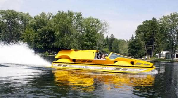 Dobbertin HydroCar entre os mais incriveis carros anfibios