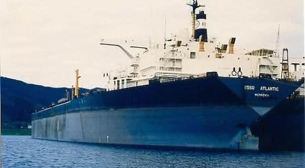 Esso Atlantic entre os maiores navios ja construidos