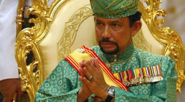 Hassanal Bolkiah entre os presidentes mais ricos do mundo