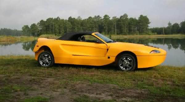 Hydra Spyder entre os mais incriveis carros anfibios 2