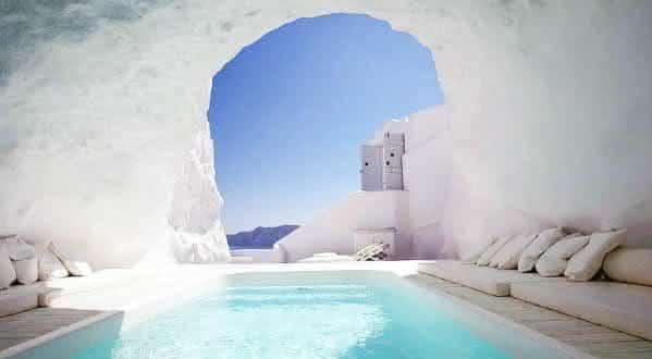 Katikies Hotel 2 entre as piscinas mais incriveis do mundo