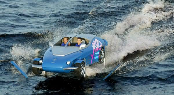 Rinspeed Splash entre os mais incriveis carros anfibios
