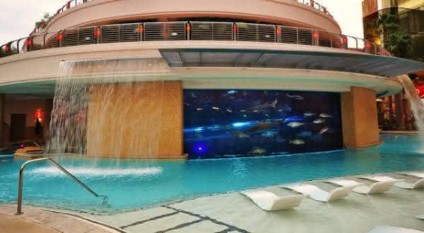 The Golden Nugget 2 entre as piscinas mais criativas do mundo