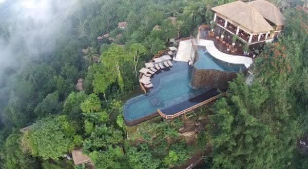 Ubud Hanging Gardens entre as piscinas mais bonitas do mundo