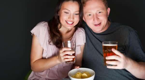 beber menos alcool entre as maiores vantagens do casamento
