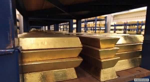 ouro entre os metais mais preciosos do mundo