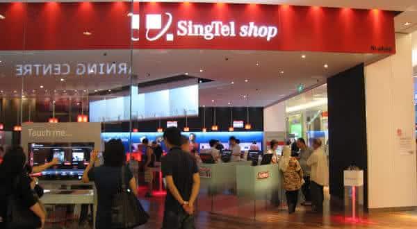 singtel entre as maiores empresas de telecomunicacoes do mundo
