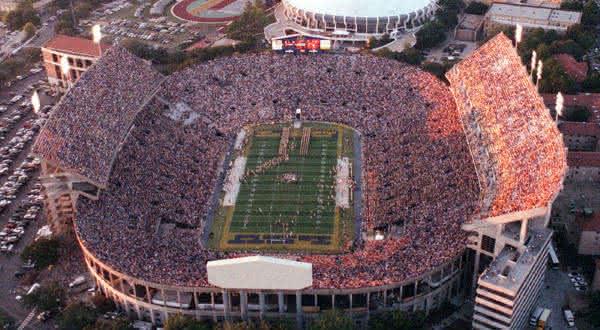 Tiger Stadium entre os maiores estadios do mundo