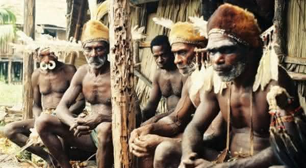 asmat de nova guine entre os mais chocantes casos de canibalismo coletivo