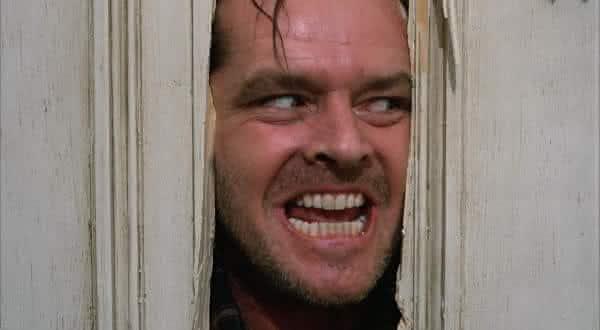 jack torrance de iluminado entre os viloes dos filmes de terror mais assustadores de todos os tempos